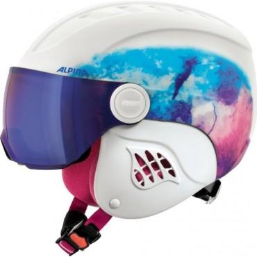 Шлем горнолыжный Alpina Carat L.E. Visor HM