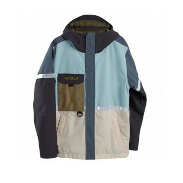 Куртка сноубордическая мужская Burton AG BALLARD JK ETHER BLUE MULTI