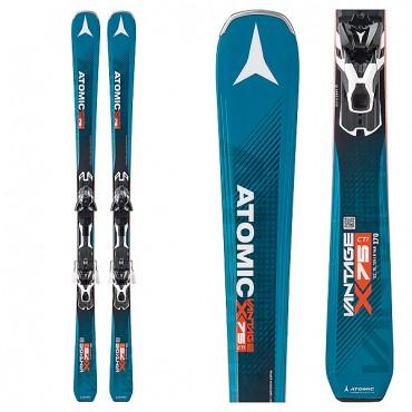 Лыжи горные Atomic Vantage X75 CTI - XT12 black-white