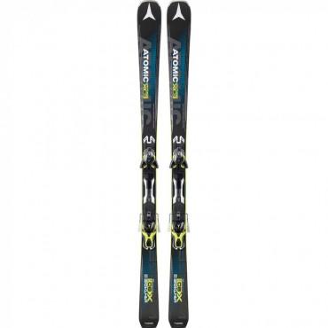 Лыжи горные Atomic Vantage X80 CTI - XT 12 black-yellow (2014-2015)