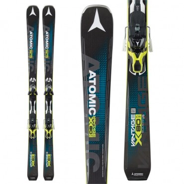Лыжи горные Atomic Vantage X80 CTI - XT 12 black-yellow