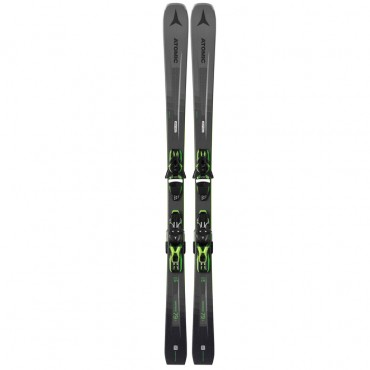 Лыжи горные Atomic Vantage 79 C + Ft 10 Gw black-green