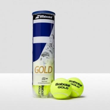 Мячи теннисные Babolat Gold Pet x4 (18)