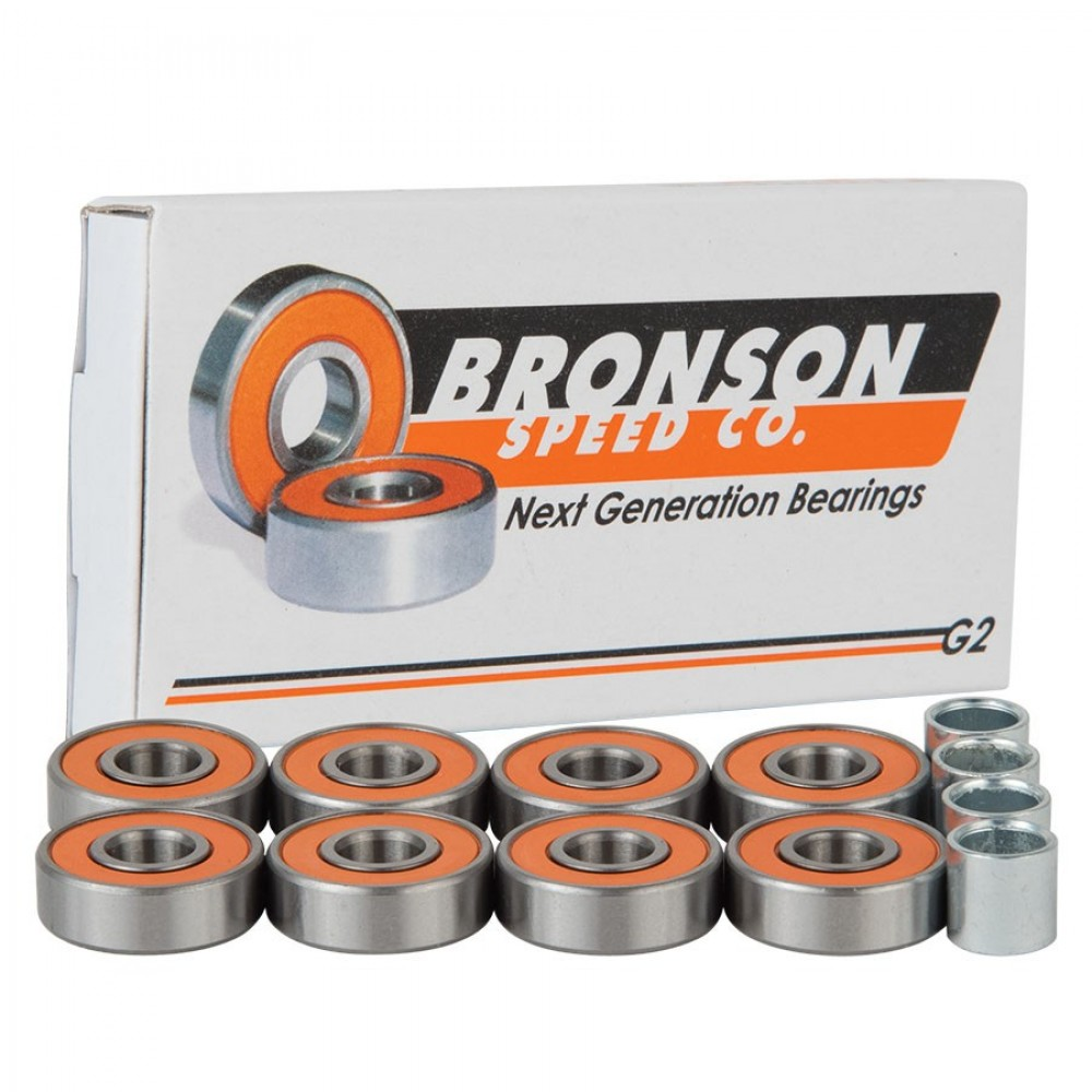Подшипники Bronson CASE=10 BOX/8  Bearing G2 Bronson Speed Co.