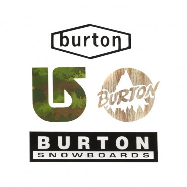 Наклейки Burton  Throwback