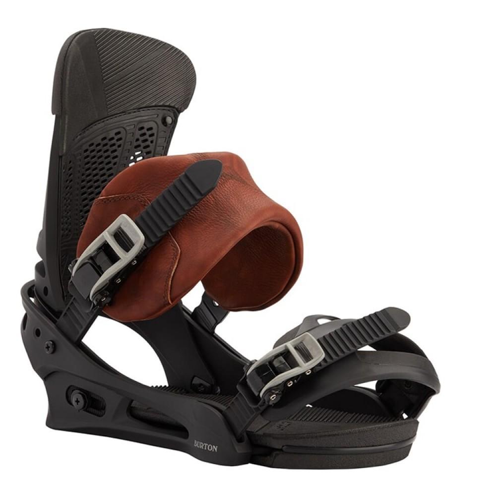 Крепления сноубордические мужские Burton Malavita Marbled Leather- 2021