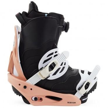 Крепления сноубордические женские Burton Scribe - 2021