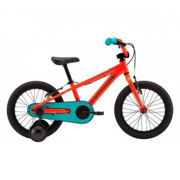 детский велосипед  Cannondale 16 M Kids Trail SS - 2018