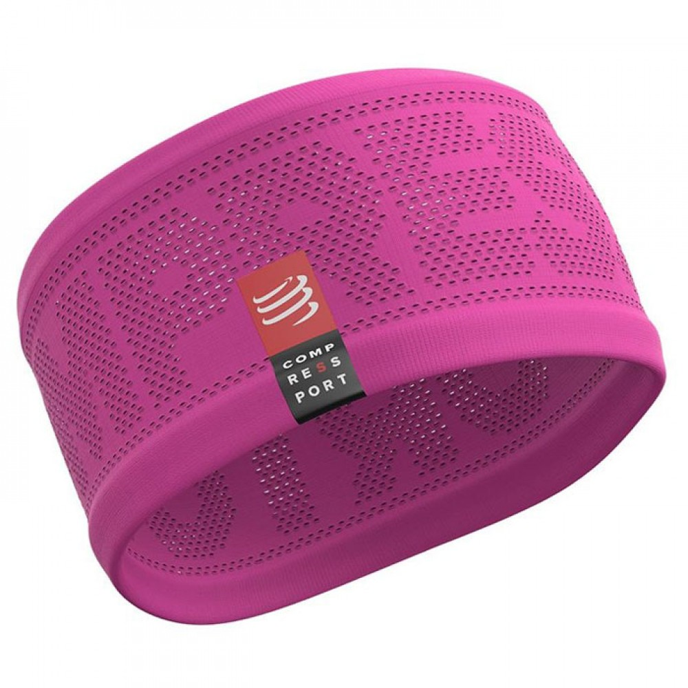 Повязка на голову широкая Compressport  Headband