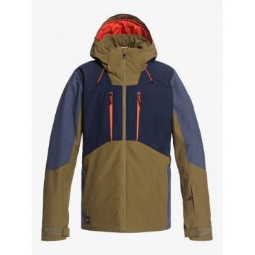 Куртка мужская сноубордическая Quiksilver Mission Plus Jk M Snjt