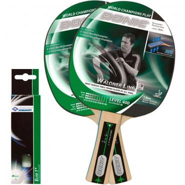 Купить набор для настольного тенниса Donic Schildkrot Ovtcharov 400 (2рак+3шар.)