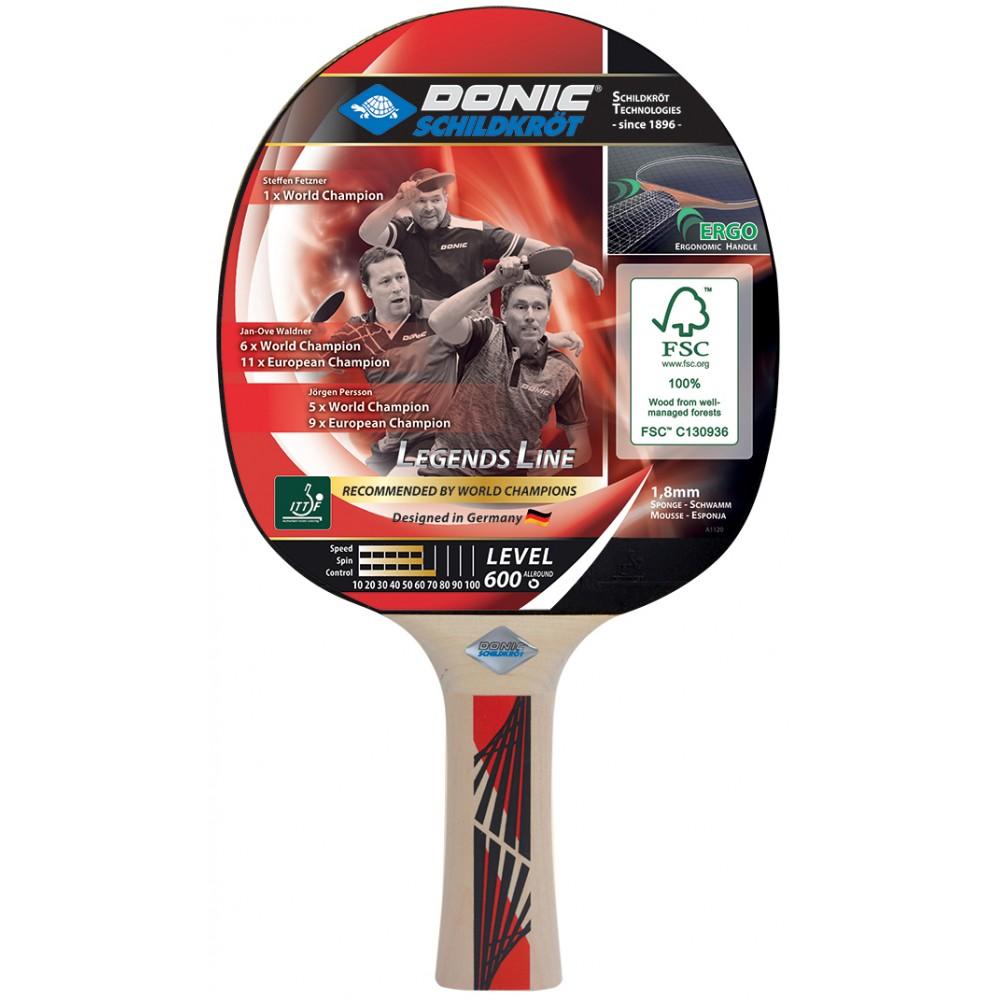 Ракетка для настольного тенниса Donic Schildkrot Legends 600