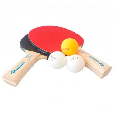 Набор для настольного тенниса Donic Schildkrot Level 400 (2рак+3шар.)