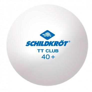 Шарик для настольного тенниса Donic Schildkrot TT-Ball TT-Club Trainingsball Poly 40+  (1шт)