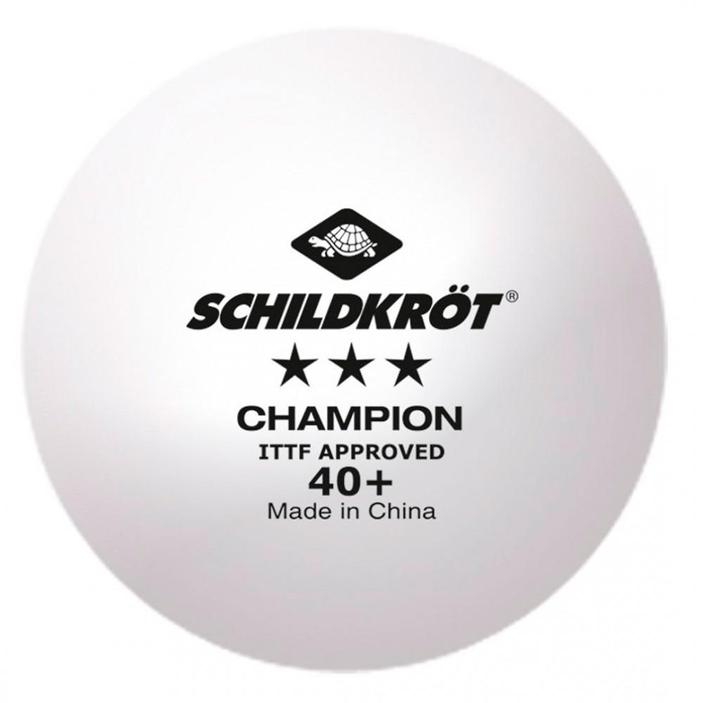 Шарик для настольного тенниса Donic Schildkrot TT-Ball 3 SternPoly 40+  (1шт)
