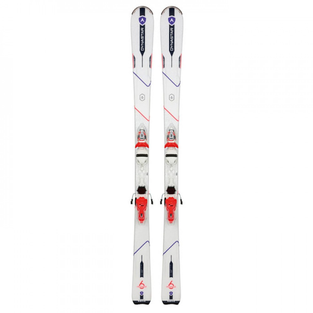 Лыжи горные Dynastar Intense 6  Xpress W10 B3 white-strawberry
