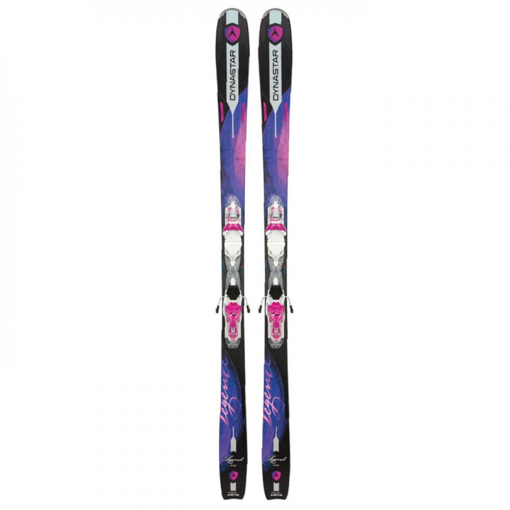 Лыжи горные Dynastar Legend W80  Xpress W10 B3 white-purple