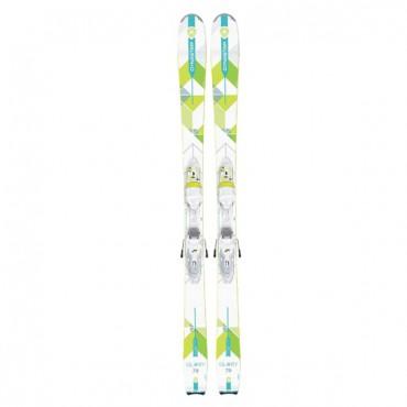 Лыжи горные Dynastar Glory 79 xpress w 11 B83 white-citron