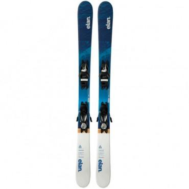 Лыжи горные Elan Pinball Qs el 7.5 WB shift black-silver
