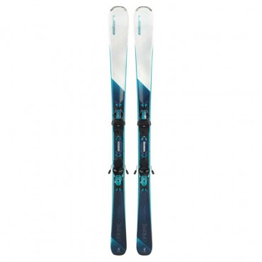 Лыжи горные Elan Delight Prime white LS elw9 GW shift black-blue