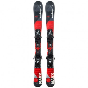 Лыжи горные Elan Maxx black-red QS el 4.5/7.5 shift solid-black