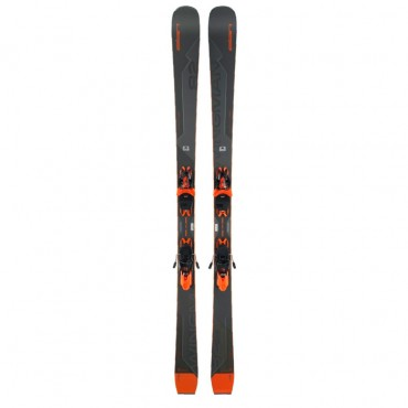 Лыжи горные Elan Wingman 82 TI PS elx11 shift  black-orange