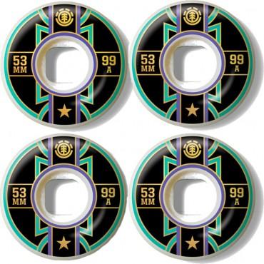 Колеса для скейта Element Banner Year 53mm