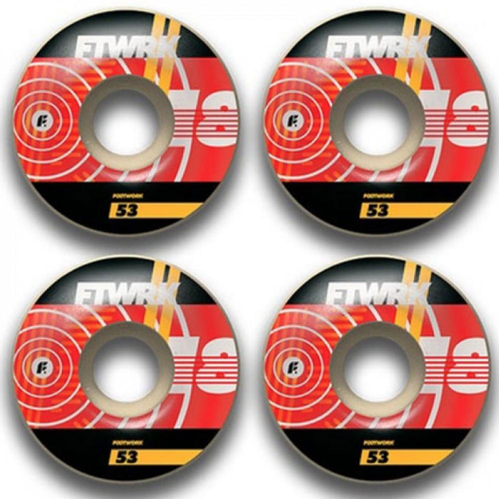Комплект колёс Footwork Groov (форма Classic )