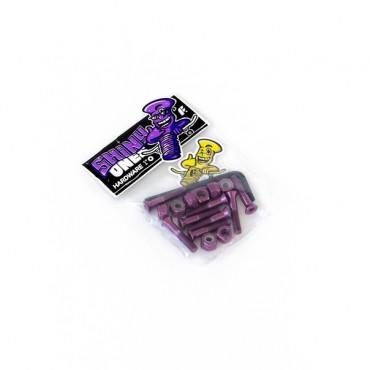 Комплект винтов Footwork Shiny шестигранник, с ключом