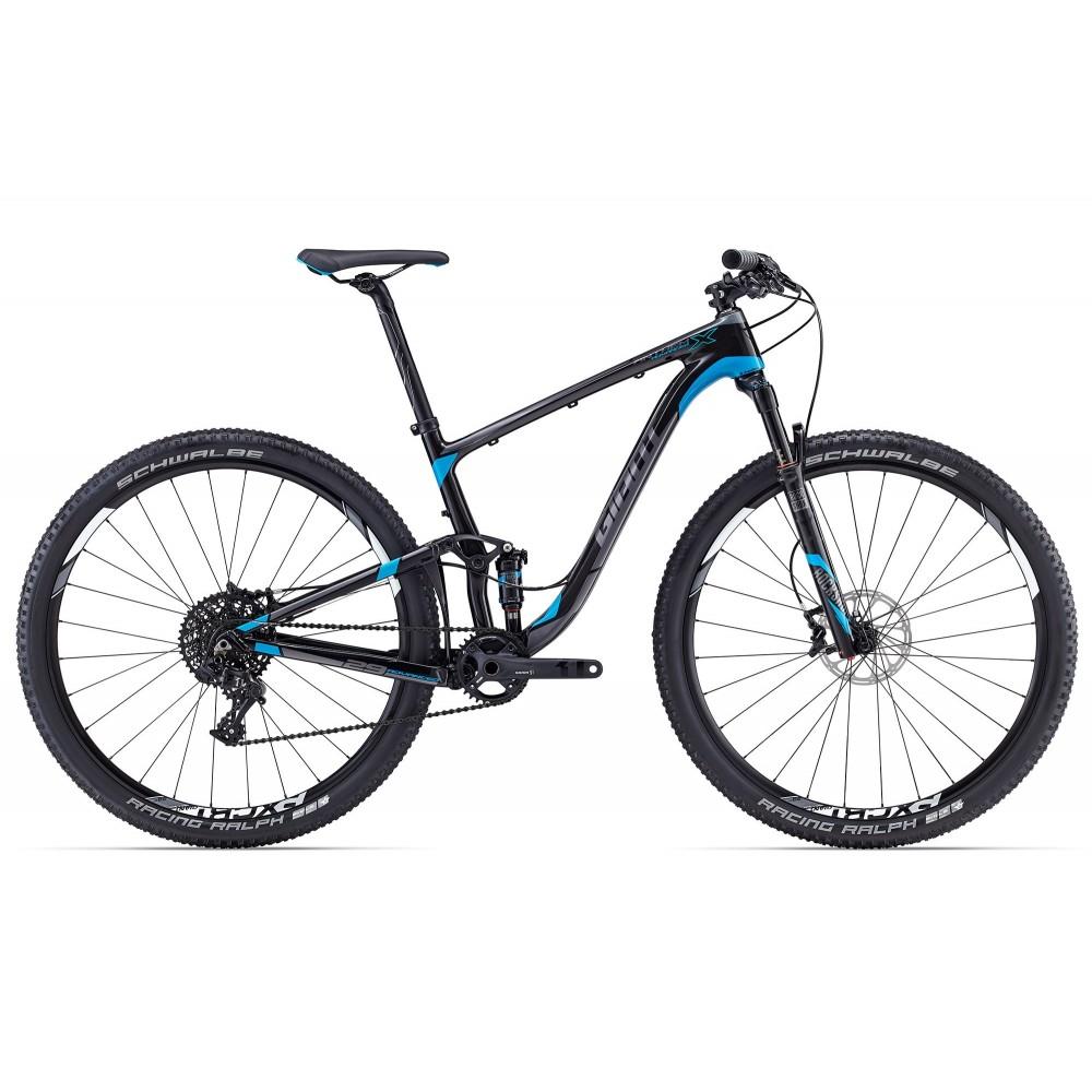 Двухподвесный велосипед Giant Anthem X Advanced 29er 2017