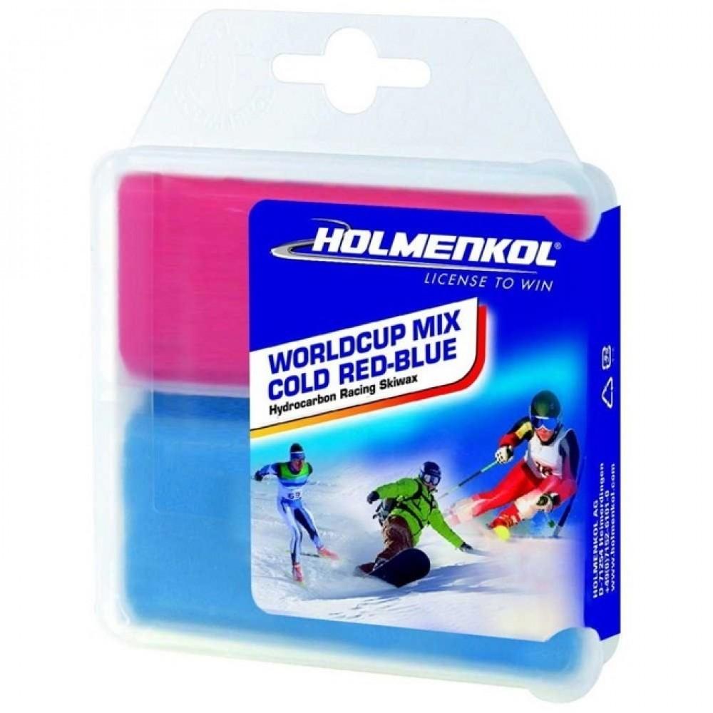 Парафин Holmenkol Worldcup Mix Cold Red-Blue