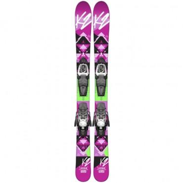 Горные лыжи K2 Luv Bug Fastrak 2 7.0 14-15