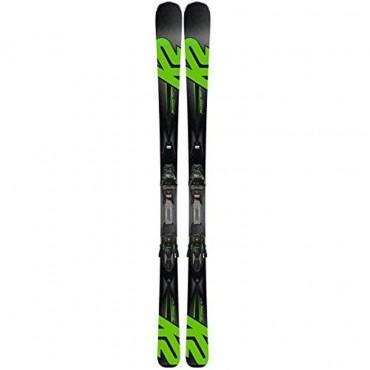 Лыжи горные K2 Ikonic 80Ti MXC 12 TCX Light Quikclik black-green