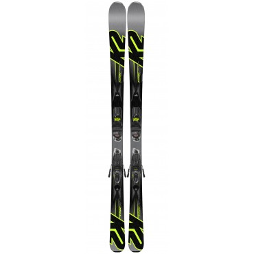 Лыжи горные K2 Konic 75 M2 10 Compact black-antracite (2017 -2018)