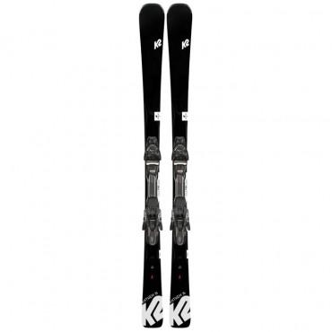 Лыжи горные K2 Anthem 76 ERP 10 quiklik