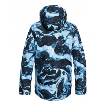 Куртка мужская сноубордическая Quiksilver Mission Print
