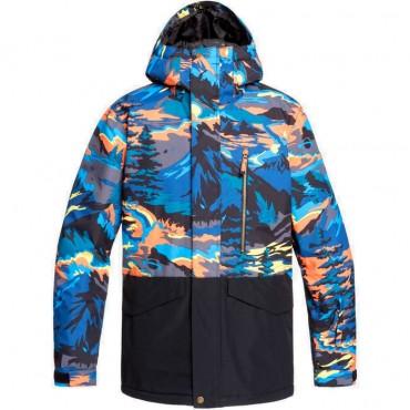 Куртка сноубордическая мужская Quiksilver Miss Pr Bloc Jk M Snjt