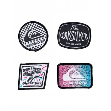 Нашивки Quiksilver Patch Pack