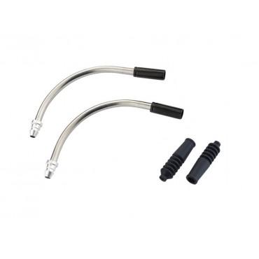 Направляющая RFR V-brake V-Pipe 90° black