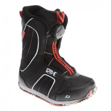 Ботинки сноубордические детские Ride Norris Boys - black- 13c