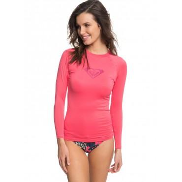 Гидро-футболка женская Roxy Whole Hearterd LS