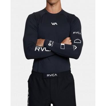 Футболка мужская для плавания RVCA Sport Rashguard Ls
