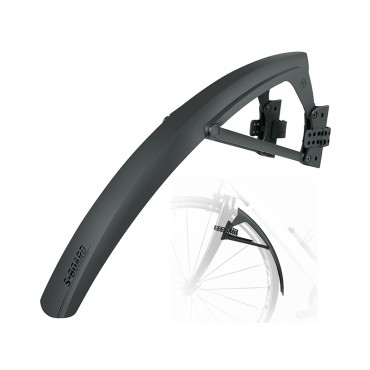 Крыло SKS S-Board, front strap-on mudguard, 28\