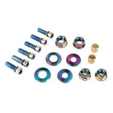Набор болтов и гаек Salt V2 (valve caps,6pcs stem bolts)