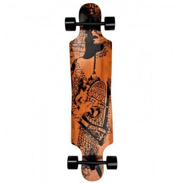 Скейт Fun4U Longboard Tribal Curves