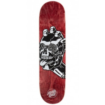 Дека Santa Cruz Skull Hard Rock Maple 8.125in