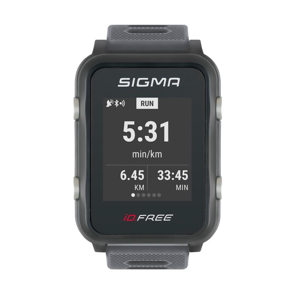 Купить часы с пульсометром Sigma Id. и GPS  Free
