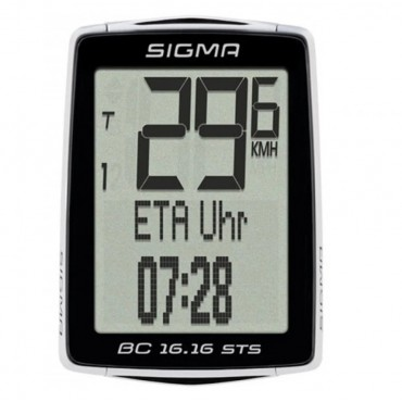 Велокомпьютер Sigma BC 16.16 STS CAD