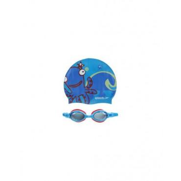 Шапочка+очки для плавания Speedo Sea squad