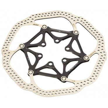 Ротор Sram HSX Heat-Shedding 180mm Black (includes Ti rotor bolts)
